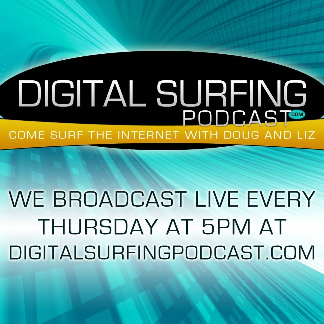 Digital Surfing Podcast Album Art