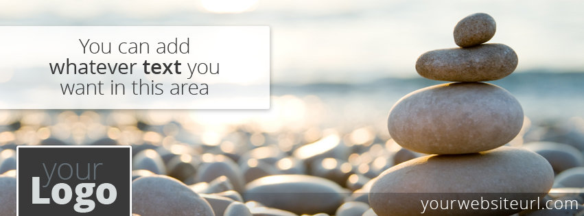 FB Cover Beach Pebbles