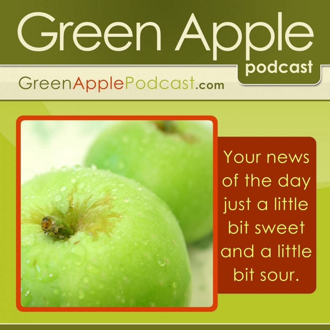 Green Apple Podcast Album Art